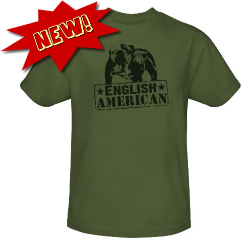 English Bulldog Tee Shirt